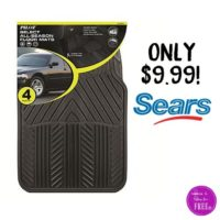 All Season 4 pc. Rubber Floor Mat Set~ 50% OFF!!!