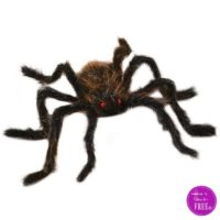 50″ Posable Spider~ $6.74!! Be the Spookiest House on the Block!