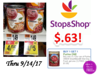 Purina Canned Dog Food only $.63 at Stop & Shop!
