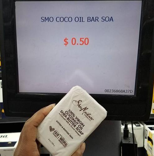 FREE + 50¢ OVERAGE SheaMoisture Soap @ Walmart