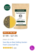 Best-Selling, Garden Fresh, Loose Leaf Tea ~Deal of the Day