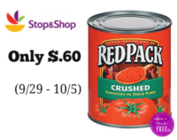 Red Pack Tomatoes Only $.60 at Stop & Shop