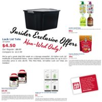 Mon-Wed OSJL Insider Exclusives~ Storage, Chestnuts & more!