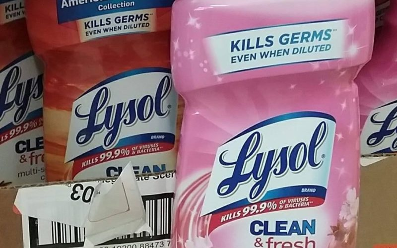 Lysol Multi-Purpose Cleaner ONLY $1.05!!!