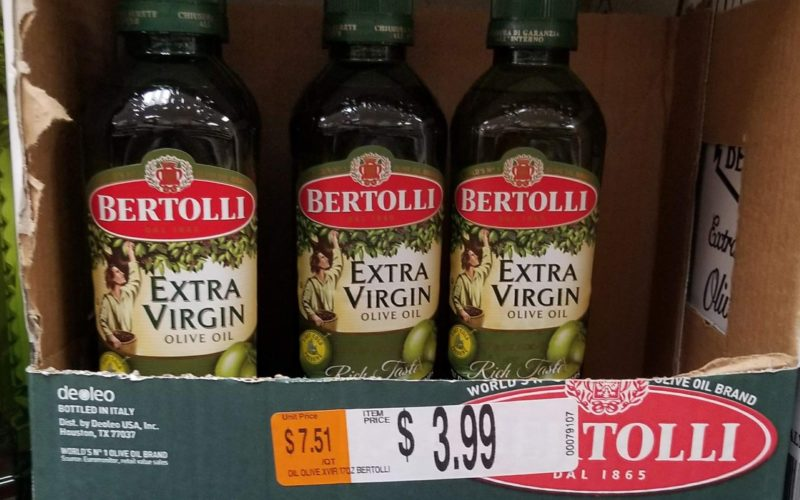 Bertolli EVOO for $1.39?! Stock Up!!!!
