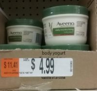 Snag an 75¢ Aveeno Body Yogurt from OSJL!!! (Reg/$5)