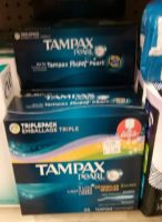 $2 Tampax Pearl 36ct @ Job Lot! (Save $3 with Stack!)