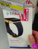 70% OFF Fitbit Blaze Black & Gold Band!!