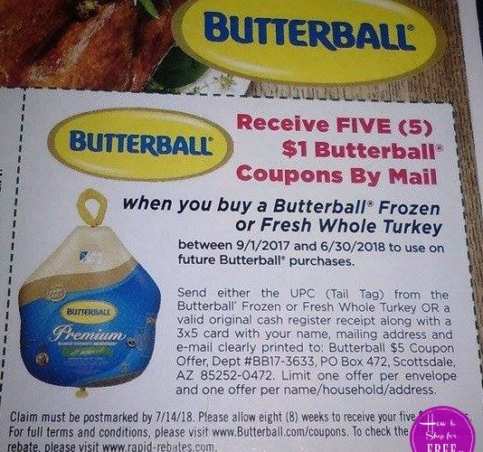 image relating to Butterball Coupons Turkey Printable called turkey How in direction of Keep For Cost-free with Kathy Spencer