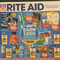 Rite Aid Ad Early Scan 10/29 – 11/4