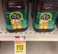 Possible FREE 4C Iced Tea at Shaw's