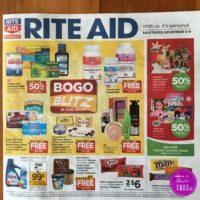 Rite Aid Ad Scan   11/5 – 11/11