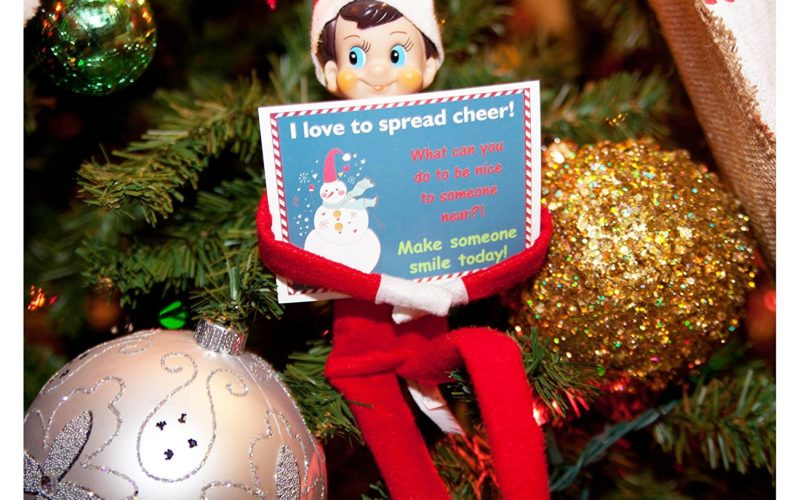 Elf on the Shelf Note Cards~ Perfect for your Elf's adventures!
