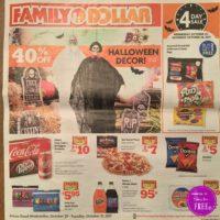 Family Dollar Ad Scan. 10/25 – 10/31
