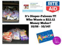 It's Diaper-Palooza at Rite Aid – Who Wants a $22.12 Money Maker? – 10/08 ~ 10/14!!