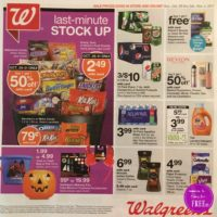 Walgreen's Ad Scan 10/29 – 11/4