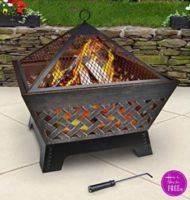 WOW! Get ready for those Cool Fall Evenings and Save 68% on this Fire Pit ~ ONLY $51.96!!