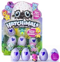 **Amazon's Choice** Hatchimals – CollEGGtibles 4-Pack + Bonus ~ ONLY $9.39!!