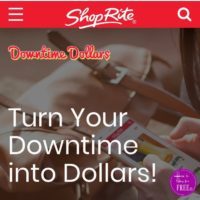 ShopRite: Downtime Dollar's Program