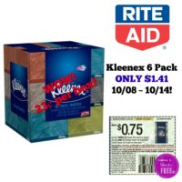 Triple Dip at Rite Aid ~ Kleenex ONLY 23¢ a Box 10/08 ~ 10/14!