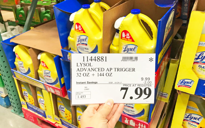 172oz of Lysol Cleaner ONLY $7.99! Easy Deal!