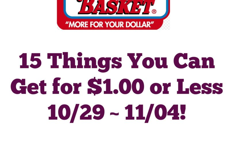 15 Things You Can Get for $1.00 or Less at Market Basket 10/29 ~ 10/04!