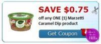 **HOT** NEW Coupon ~ .75/1 Marzetti Caramel Dip