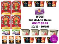 WOW! Get ALL 19 Items ONLY $2.74 at Stop & Shop 10/13 ~ 10/19!