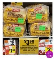 Sara Lee Artesano Bread only $.39 at Stop & Shop!