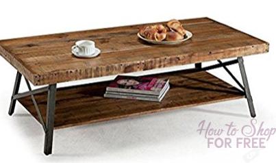 Chandler Rustic Coffee Table