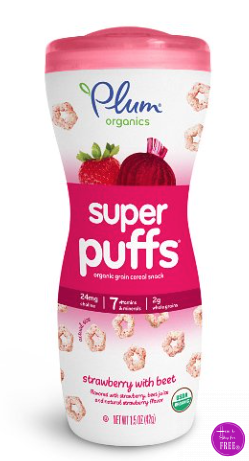 Plum Organic Puffs Hot Deal on Amazon~
