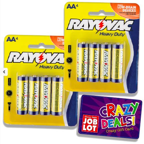 FREE Batteries! at Ocean State Job Lots