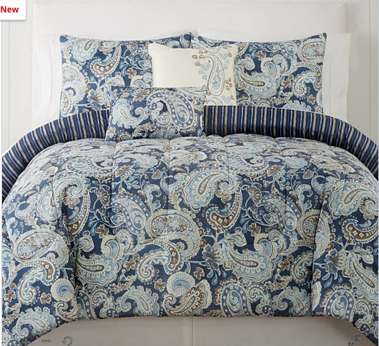 You can't beat the price on this King size comforter set!