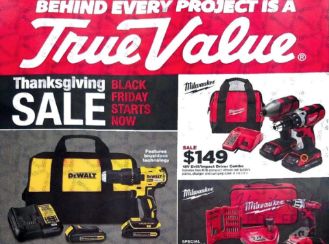 True Value Black Friday Ad Scan 2017