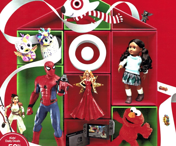 Target Toy List for Black Friday2017