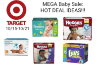 MEGA BABY SALE!!!! Up to $50 in FREE Gift Cards at Target!!! (10/15-10/21)