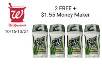 $1.55 Money Maker on 2 FREE Speed Stick at Walgreens!!! (10/15-10/21)