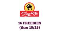 16 FREE Items at Shop Rite (10/22-10/28)