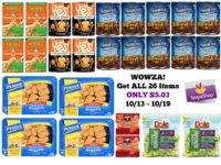 WOWZA! Get ALL 26 Items ONLY $5.03 at Stop & Shop 10/13 ~ 10/19!!