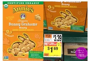 Annie's Organic Snacks only $.69!
