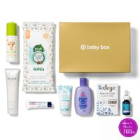 ONLY $7 SHIPPED – October Baby Box from Target!!!