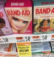 Barbie Band-Aids Only $.75 at Shaw's