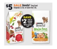 Beneful Dog Food Only $3 at Dollar General