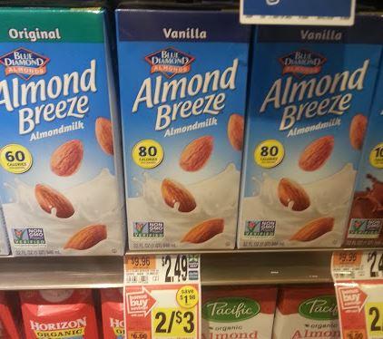 FREE Blue Diamond Shelf Stable Milk!
