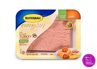 Butterball Ground Turkey only $1.50 at ShopRite!