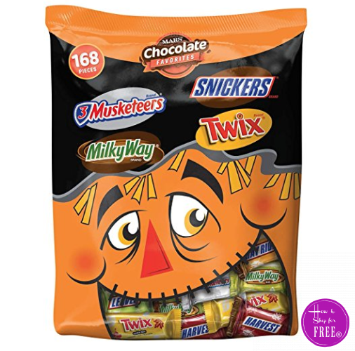 Wow! Lowest Price on HUGE Bag of Halloween Candy I Seen!