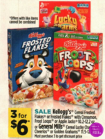 Kellogg's Cereal Only $1 at Dollar General