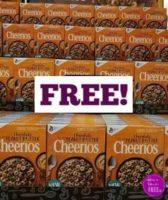 FREE Cheerios!