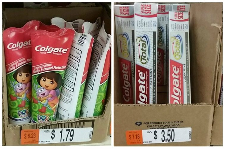 Colgate Toothpaste as low as 57¢ at Job Lot!!
