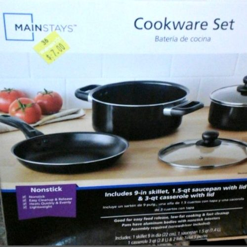 $7 Cookware Set!! ~Great Gift Idea